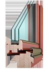 Dřevěná okna a dveře